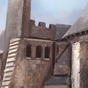 Castle in Dinas Afferoan